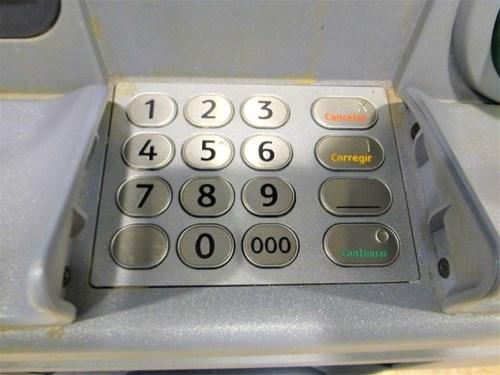 ATMの入力キー