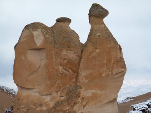 カッパドキアのデヴェレントのラクダ岩