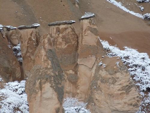 カッパドキアのデヴェレントのキノコ岩