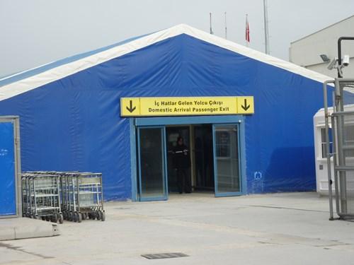 カッパドキアのカイセリ空港