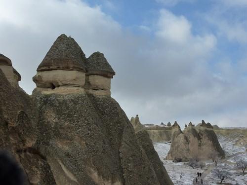 カッパドキアのパジャパーにある妖精の煙突