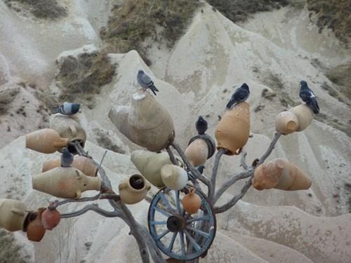 カッパドキアの鳩の谷
