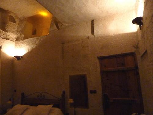 カッパドキアの洞窟ホテル(ケレベッキホテル)の室内