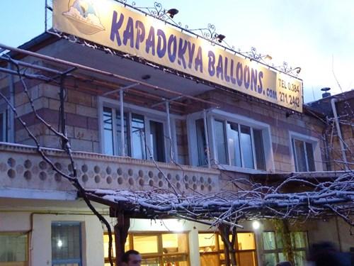 kapadokya-balloon社のオフィス