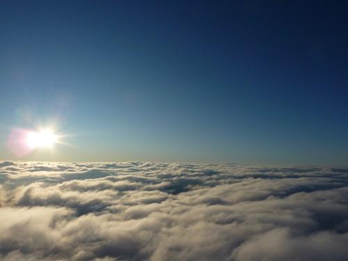 気球で訪れたカッパドキア上空