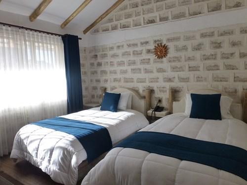 ウユニ塩湖の塩のホテル(ルナサラダホテル)の客室