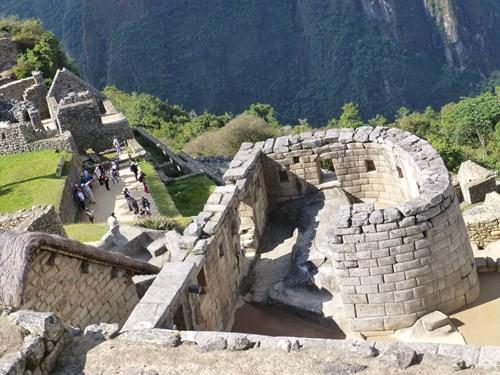 マチュピチュ遺跡 太陽の神殿