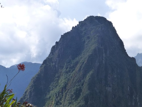 マチュピチュ遺跡 ワイナピチュ山