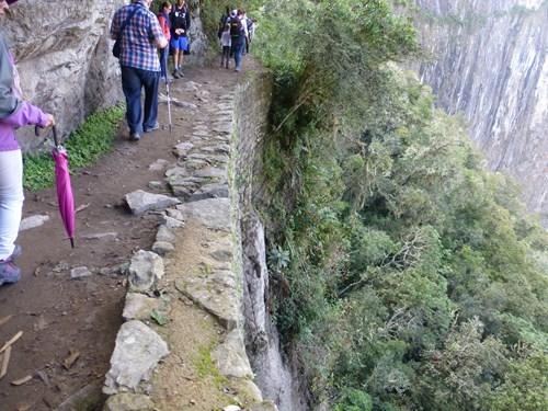 マチュピチュ遺跡 インカ道