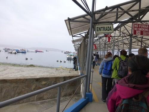 パラカス港