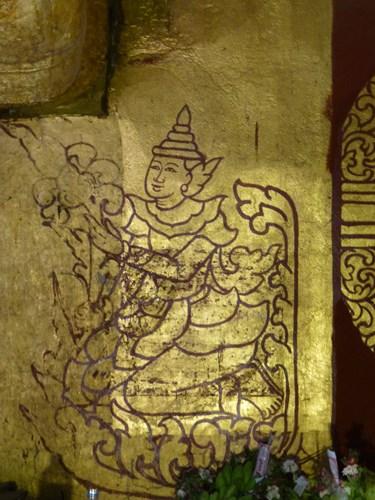 アーナンダ―寺院の壁画