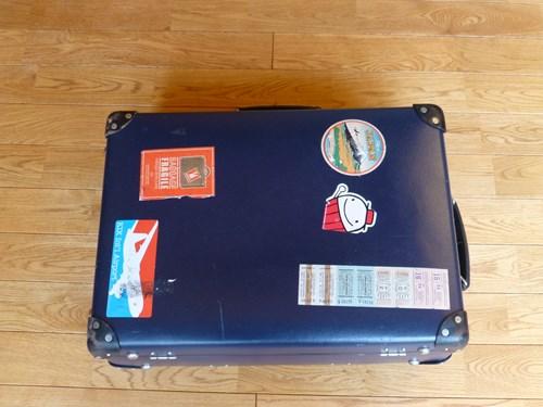 グローブ・トロッター(globe trotter)のスーツケース・サーフライダーの外観(スーツケースベルトなし)