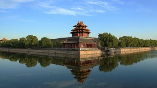 北京の故宮博物院(紫禁城)の角楼