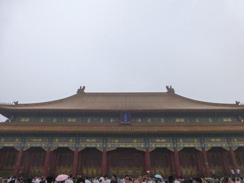 北京の故宮博物院(紫禁城)の太和門