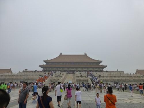 北京の故宮博物院(紫禁城)の太和殿