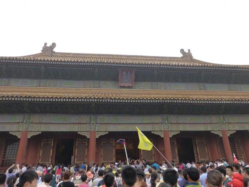 北京の故宮博物院(紫禁城)の乾清宮