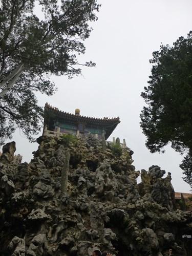 北京の故宮博物院(紫禁城)の御景亭
