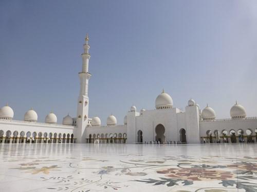 シェイク・ザイード・モスク内部