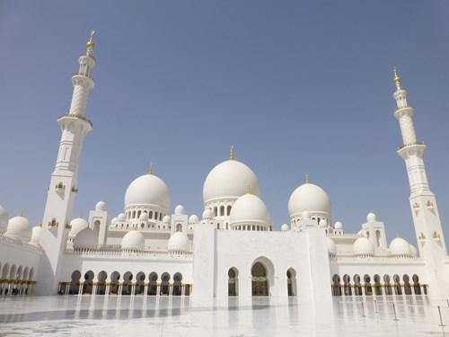 シェイク・ザイード・モスクのメインホール