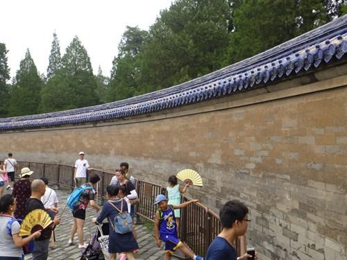 天壇の皇穹宇の回音壁