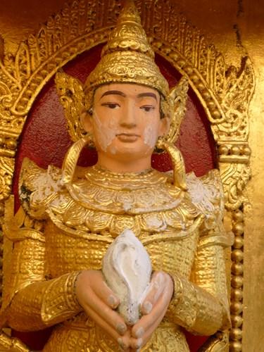 イエレーパゴダの仏像