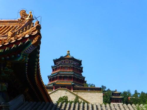 頤和園の佛香閣