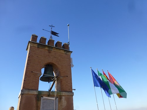 アルハンブラ宮殿のアルカサバの見張り台