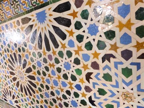 アルハンブラ宮殿のナスル宮殿メスアール宮のメスアールの間