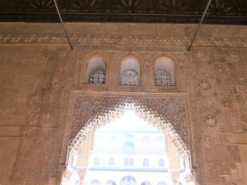 アルハンブラ宮殿のコマレス宮のバルカの間