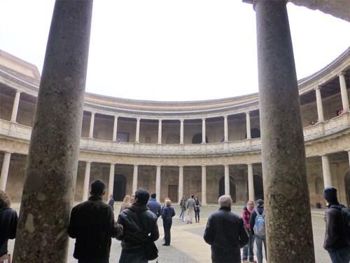 アルハンブラ宮殿のカルロス5世宮殿