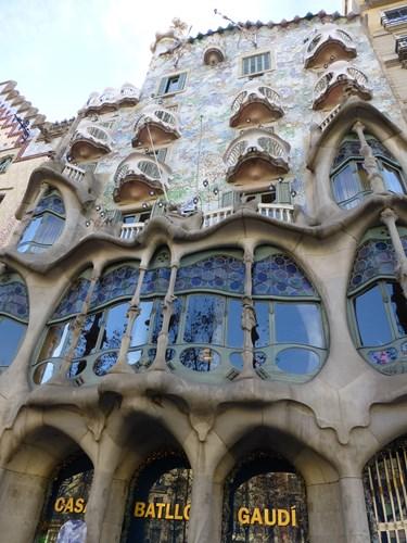 スペイン・バルセロナのカサ・バトリョ
