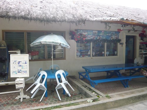 フィリピン・セブの旅行会社のオフィス