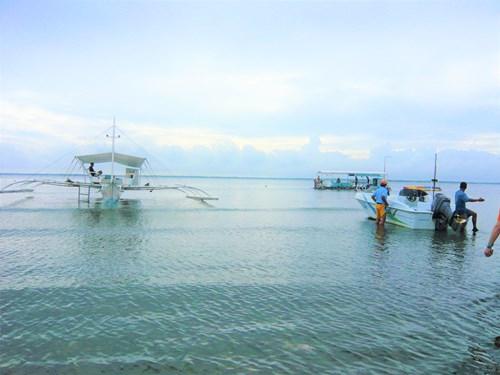 フィリピン・セブの海