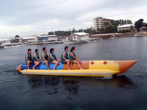 フィリピン・セブでのバナナボート