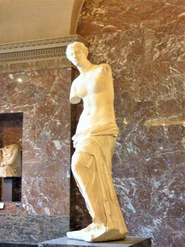 パリ・ルーブル美術館のミロのビーナス