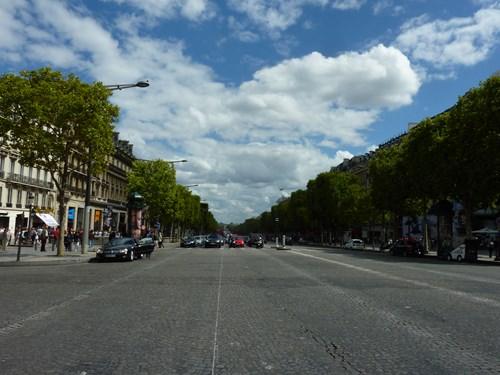 フランス・パリのシャンゼリゼ通り
