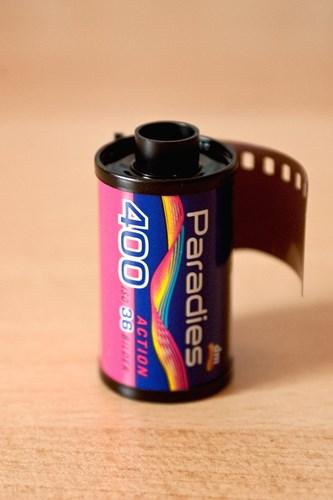 フィルムカメラのフィルム