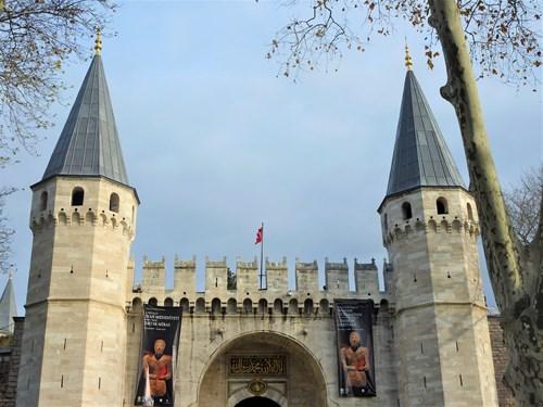 トルコ・イスタンブールのトプカプ宮殿