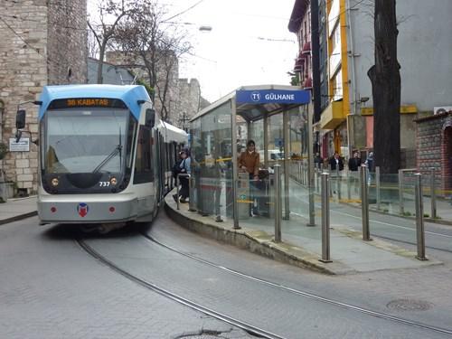 トルコ・イスタンブールの路面電車