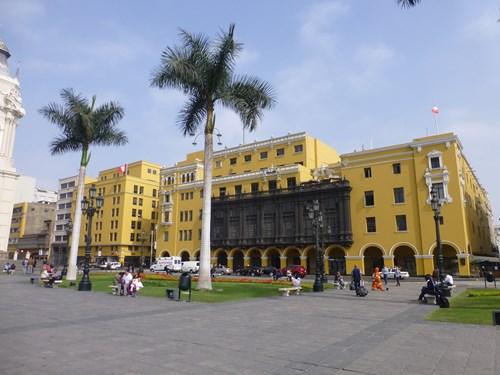 ペルー・リマのリマ大司教宮殿博物館