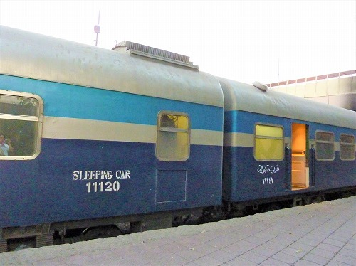 アベラ・エジプト(寝台列車)の車体