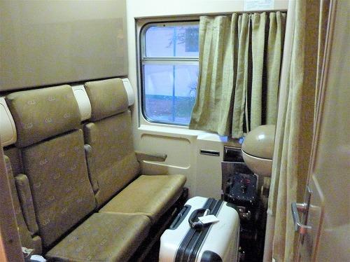アベラ・エジプト(寝台列車)の個室