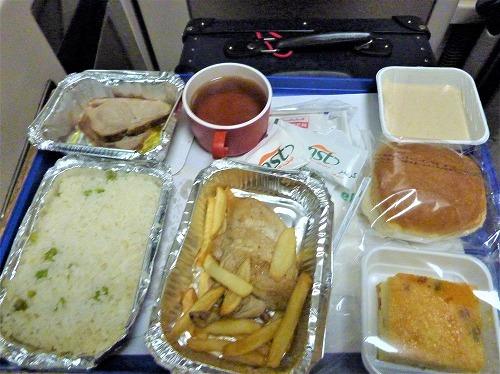 アベラ・エジプト(寝台列車)の夕食
