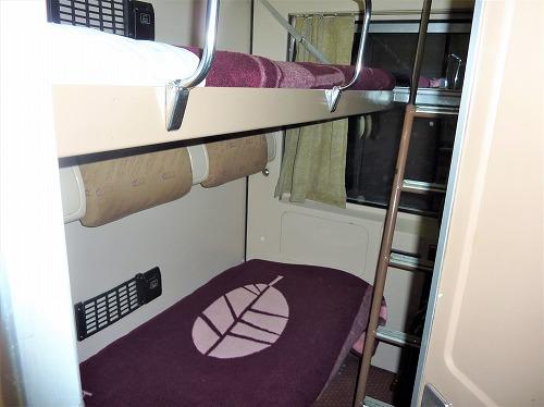 アベラ・エジプト(寝台列車)の2段ベッド