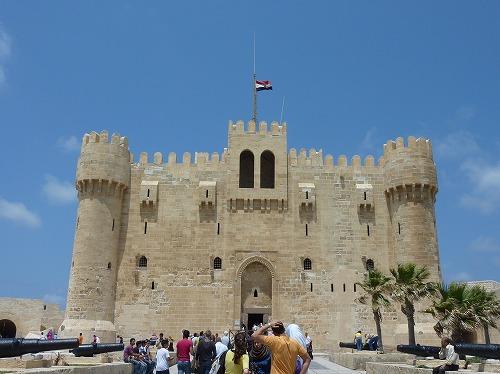 エジプト・アレクサンドリアのカーイトゥーベイの要塞