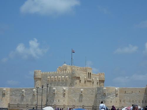 エジプト・アレキサンドリアのカーイト・ベイの要塞