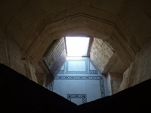 エジプト・アレキサンドリアのカーイト・ベイの要塞内部
