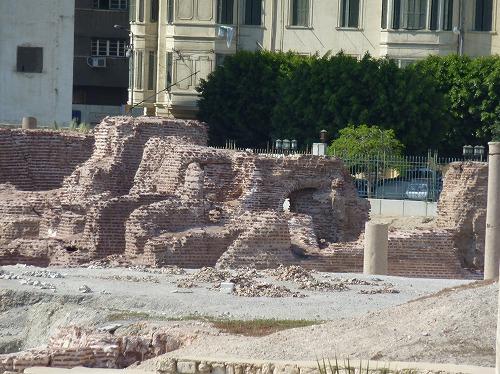 エジプト・アレキサンドリアのローマ円形劇場