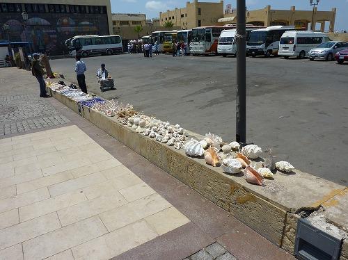 エジプト・アレキサンドリアの露店