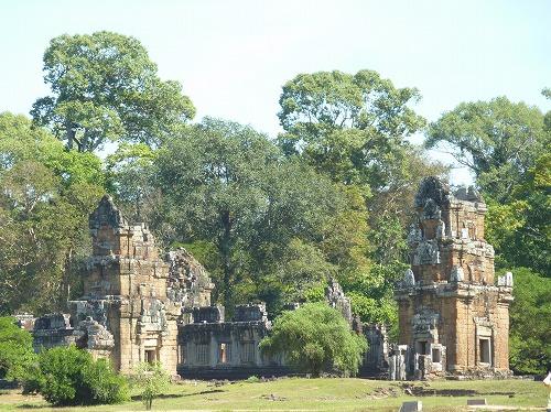 カンボジア・アンコール遺跡群のクラトン